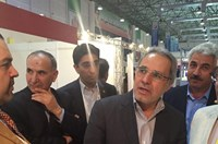 The deputy minister of energy paid a visit to Aban Niroo booth in Energy exhibition in Kish / Iran is ready to cooperate with Spain in producing new types of energy